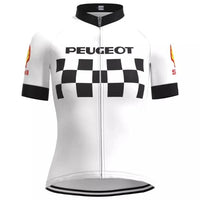 Women Peugeot cycling jersey 1985
