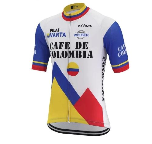 Cafe de Colombia cycling Jersey replica