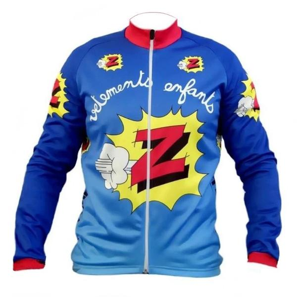 Team Z vintage cycling jersey long sleeve replica