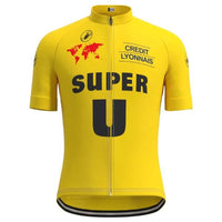 Super U cycling Yellow jersey Tour de France 89