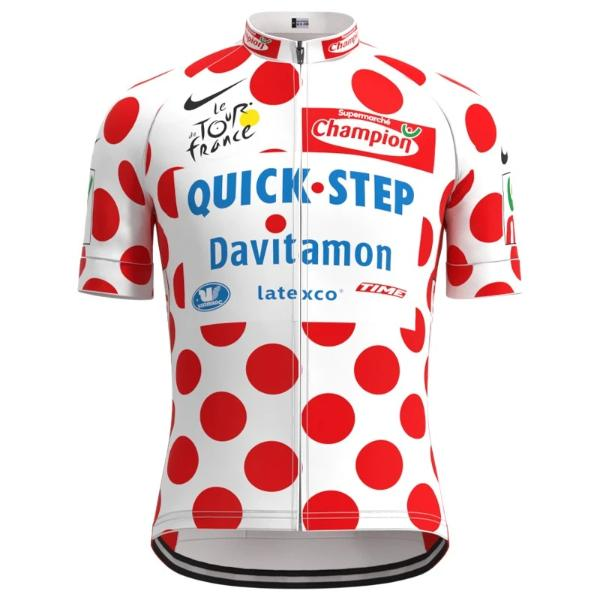 Tour de France King of Mountains cycling jersey 2004