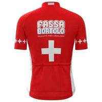 Switzerland champion retro cycling jersey 2004