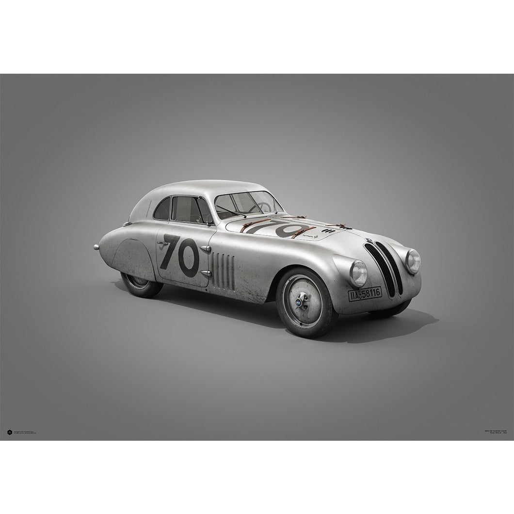 BMW 328 – Colors of Speed