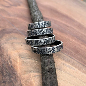 Forest stacking ring