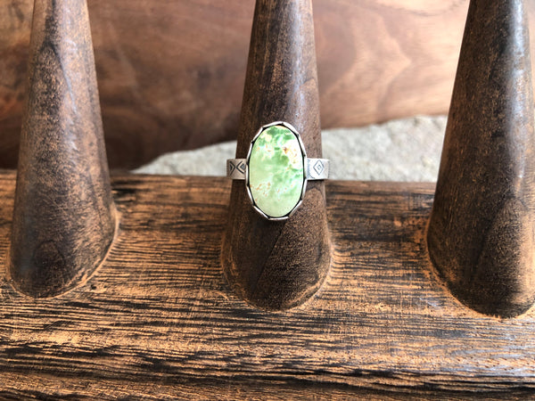pilot mountain turquoise ring size 8.5