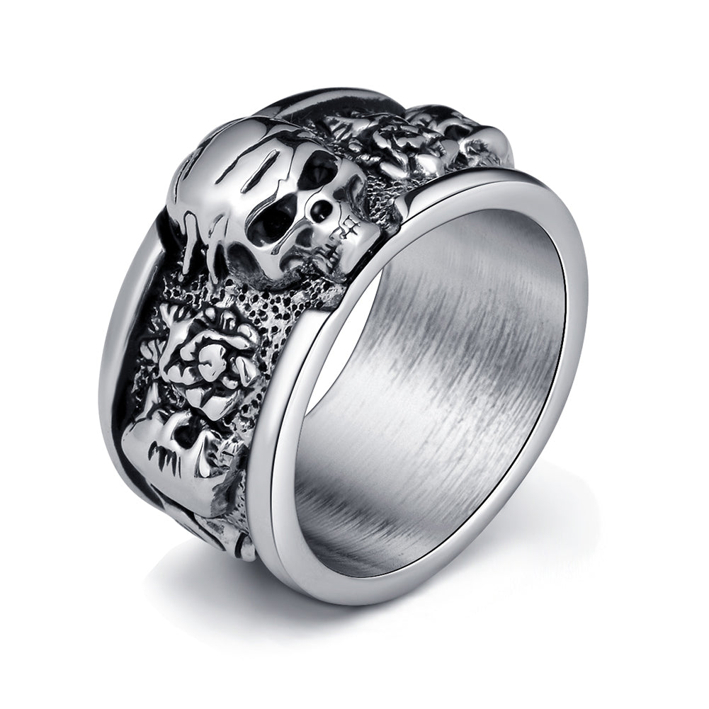 Are skull rings for men expensive?