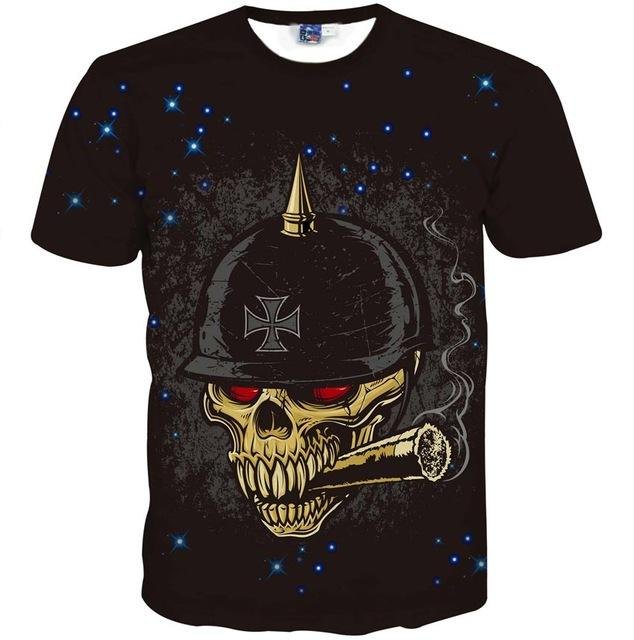 Purchase high quality skull shirts mens