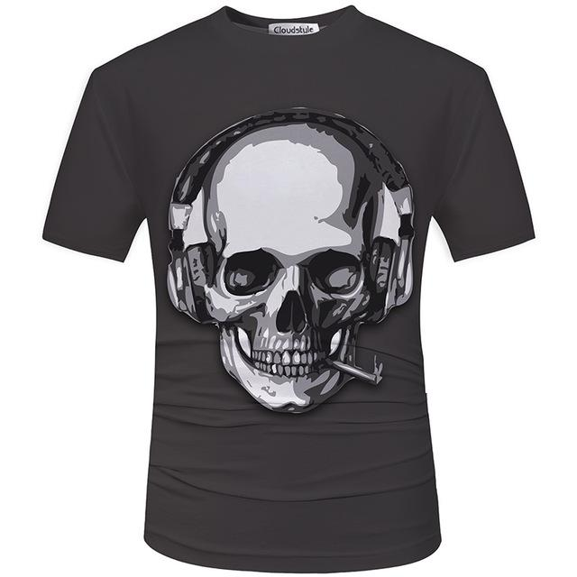 Should you get your own skull t shirt?