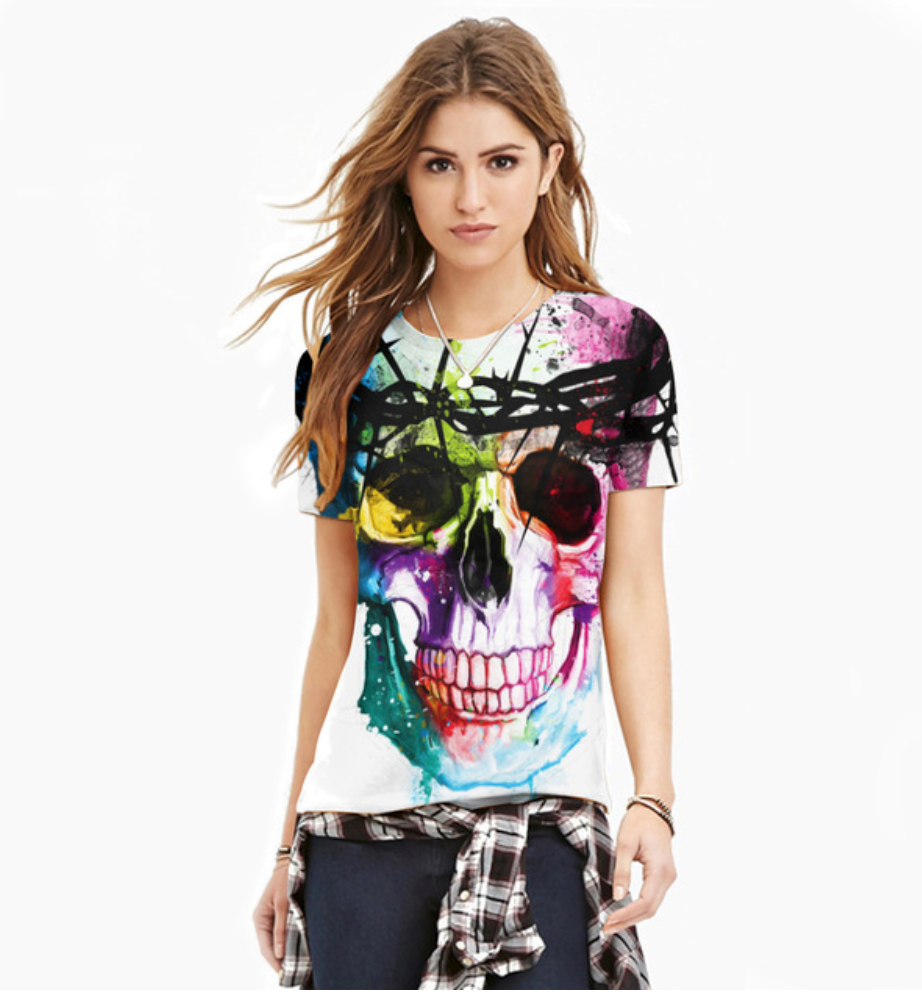 Is there any variety for womens skull shirts?