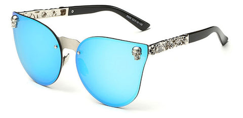 Crystal Skull Cool Gothic Steampunk Sunglasses