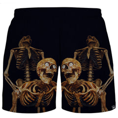 Love Skull Shorts Men