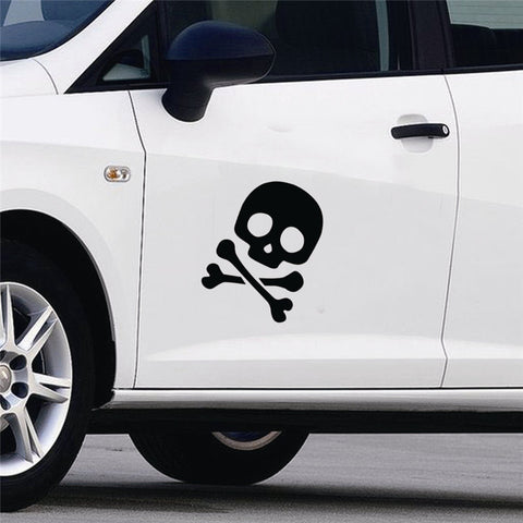 Pirate Bones Vinyl Removable Car and Wall Sticker