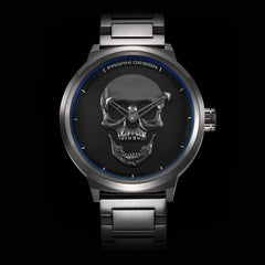 Retro Punk 3D Skull Personality Watches