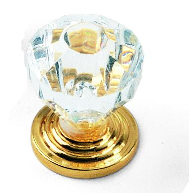 Acrylic Knob, Kristal Collection - Laurey