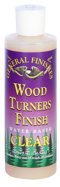 General Finishes Water Based Clear Wood Turners Top Coat
