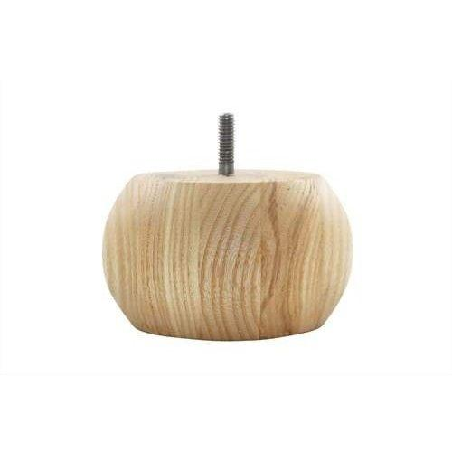 Round Bunn Foot, Wood Products - Laurey