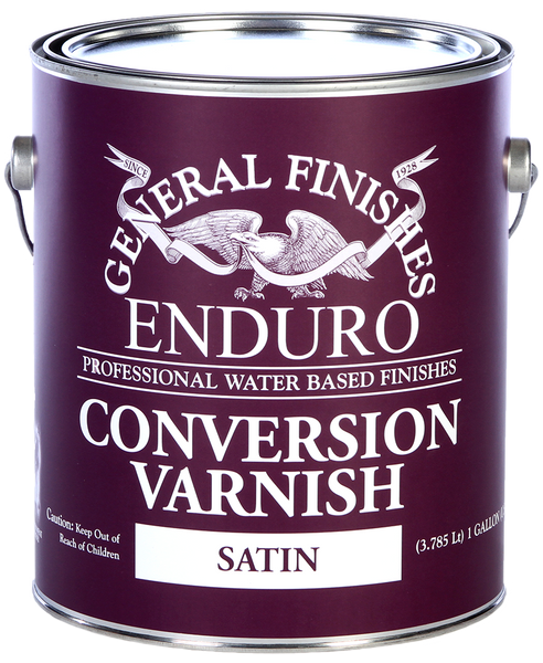 General Finishes Clear Water Based Conversion Varnish Top Coat