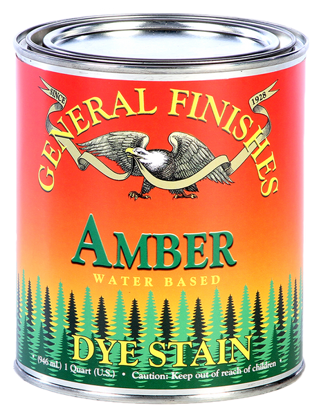 General Finishes Water Based Dye Stain