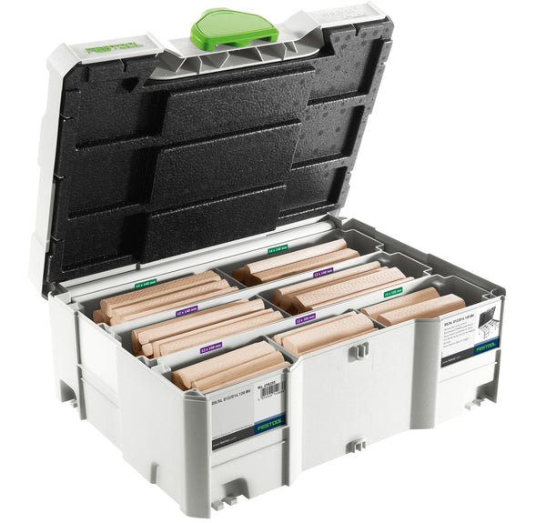 DF 700 EQ Domino XL Tenons Assortment Systainer 12/14 mm - Festool