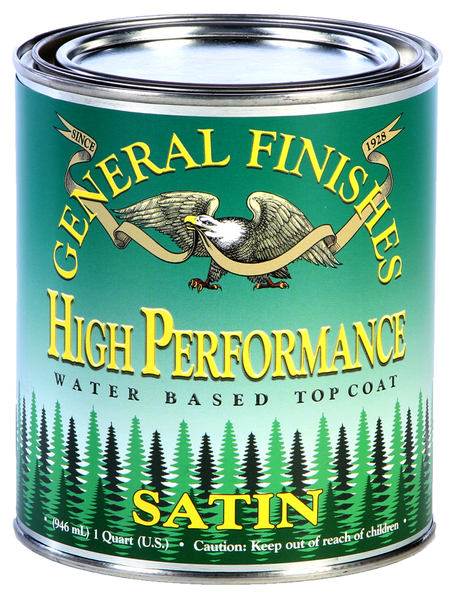 General Finishes Water Based Clear High Performance Poly Top Coat