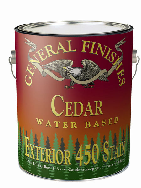 General Finishes Exterior 450 Water Based Wiping Stain