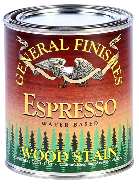 General Finishes Water Based Wiping Stain