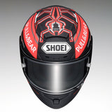 Shoei X-Spirit 3 Marquez 5 TC1 Concept Motorcycle Helmet Black