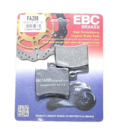 Aprilia Sport City 250 ie EBC Rear Brake Pads FA298 Street Motorcycle Brakes