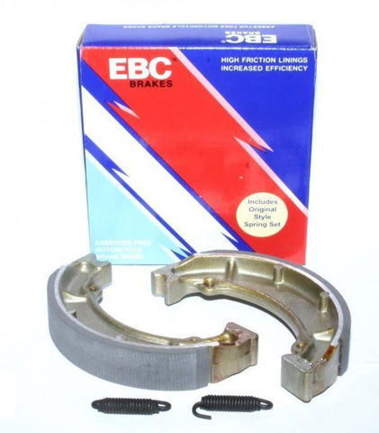 Yamaha PW80 Rear Brake Shoes With Springs EBC 1993-2013