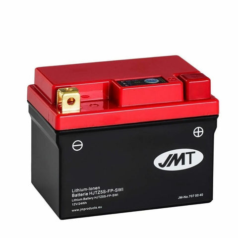 JMT Motorcycle Lithium Ion Battery for Honda MSX125 Grom HJTZ5S 2 Year Warranty