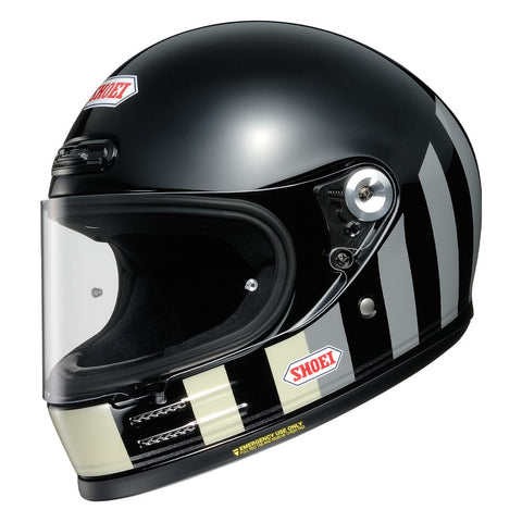 Shoei Glamster Resurrection TC5 / Motorcycle Helmet Black/Grey