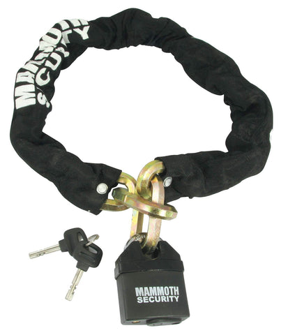 Mammoth 12mm Hexagon Lock & Chain - 1m Length