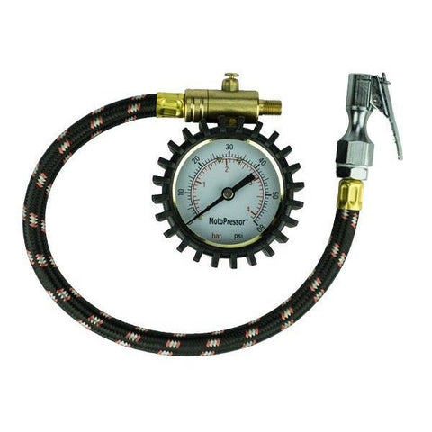 Rocky Creek Motopressor Tyre Pressure Gauge - NEW IMPROVED DESIGN