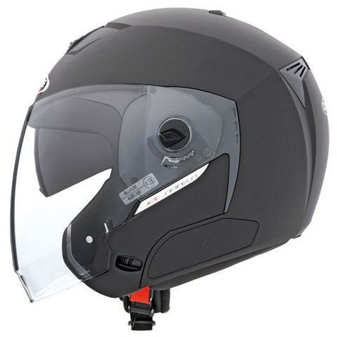 Caberg Jet Sintesi Helmet Matt Black Double Visor Bluetooth-Ready ACU Approved