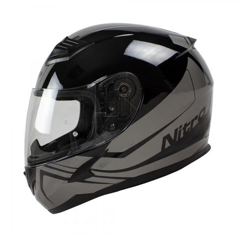Helmet Nitro N2400 Rogue Blk/Gun Pin Lock Ready