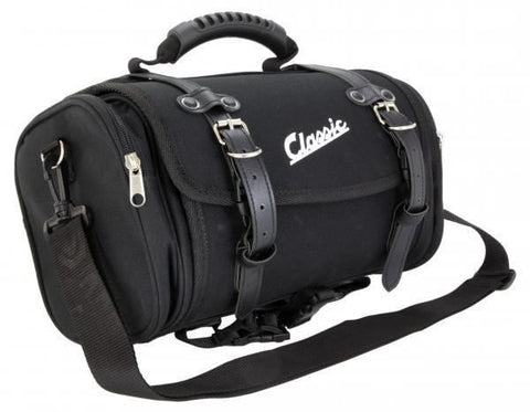 Classic Vespa & Lambretta Soft Storage Bag: Black