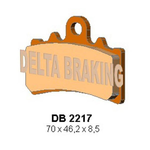 Delta HH Sintered Front Brake Pads: KTM Duke 125, 200, 390