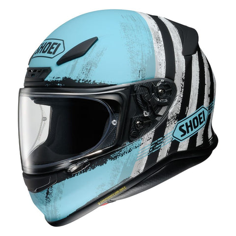 Shoei NXR Shorebreak TC2 Motorcycle Helmet Blue