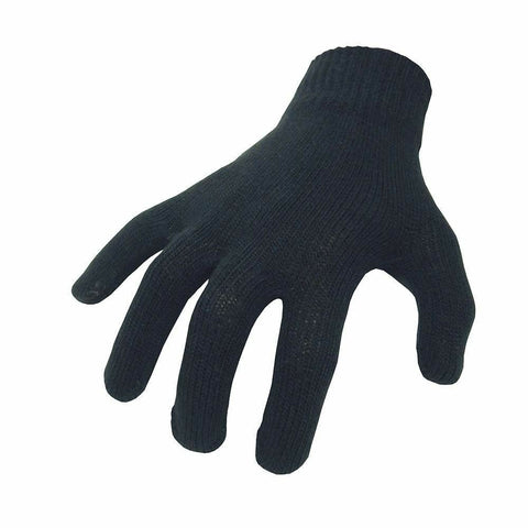 Biketek Motorcycle Inner Gloves - Black