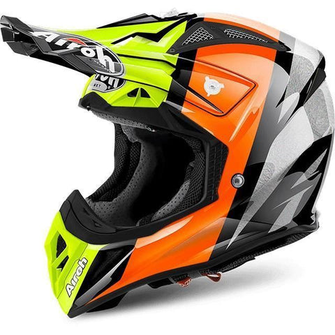 Airoh Aviator 2.2 Off Road Motorcycle Helmet - Revolve Orange