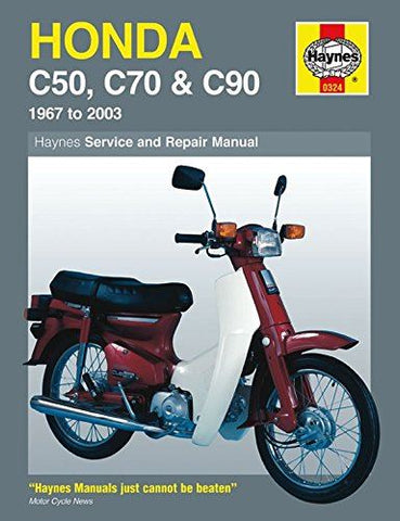 Haynes Manual Honda C50 / C70 / C90