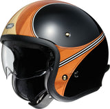 Shoei J.O. Waimea TC10 Motorcycle Helmet Brown