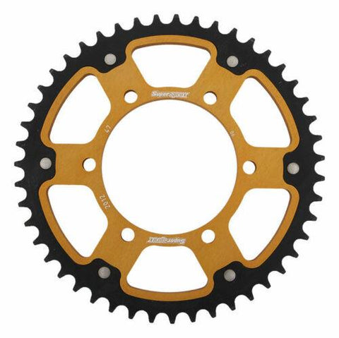 Supersprox Gold Stealth Rear Sprocket Triumph Daytona 675