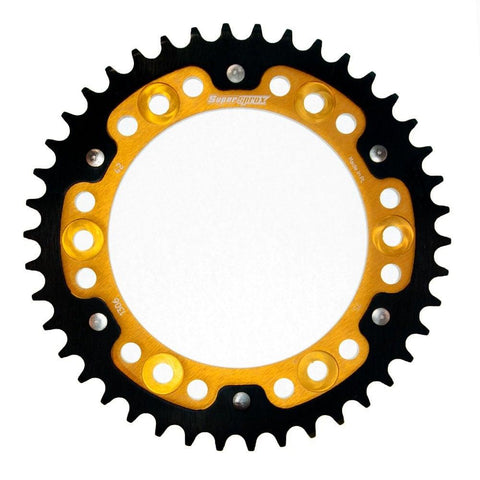 Supersprox Gold Stealth Rear Sprocket Honda CBR1000RR Honda CBR900RR