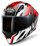 Airoh Valor Full Face Helmet Conquer Gloss Red