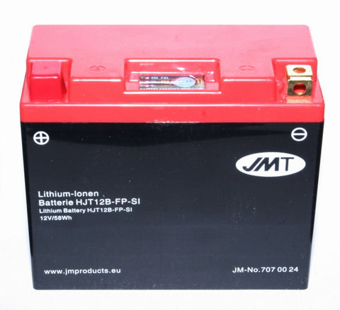 Triumph Thruxton 865 Lithium Ion Battery YT12B-BS 2 Year Warranty 3kg Lighter