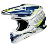 Shoei VFX-WR Allegiant TC3 Motocross & ATV Helmet Yellow