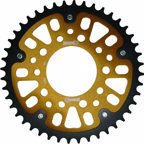 Supersprox Gold Stealth Rear Sprocket Honda XRV750 Africa Twin 45T