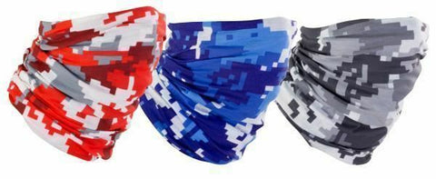 Motorcycle 'Urban Camo' Neck Tubes - Set of 3