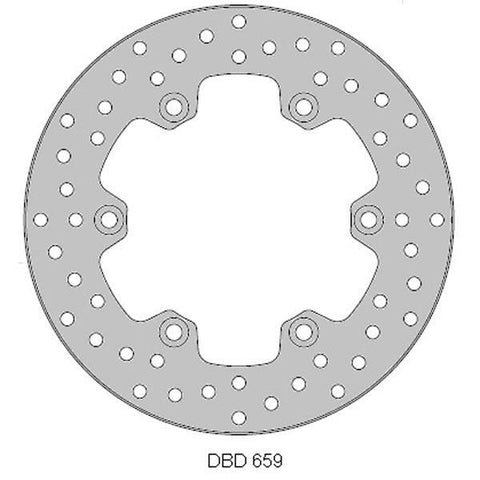 Yamaha WR125 Delta Rear Brake Disc 2010-14